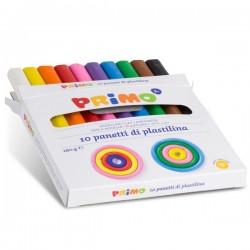 10 Panetti di Plastilina Primo