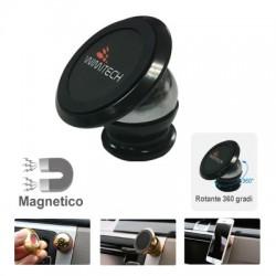 Mini supporto universale magnetico per Smartphone , MP4 , navigatore ecc.