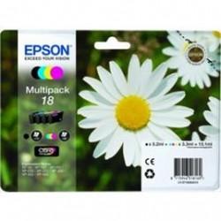 MULTIPACK EPSON C13T18064010 BK-C-M-Y ORIGINALE