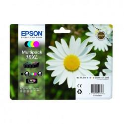 MULTIPACK EPSON C13T18164010 BK-C-M-Y XL ORIGINALE