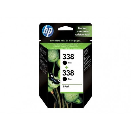 MULTIPACK HP N. 338 + N.338 ORIGINALE SCADUTO OTTOBRE 2017 GARANTITA 100%