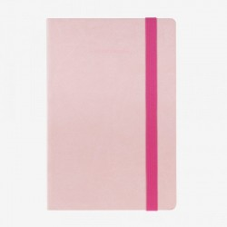 MYNOTEBOOK LEGAMI TACCUINO MEDIUM A RIGHE ROSA