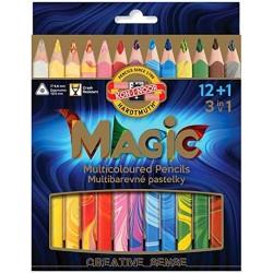 Astuccio 12 Matitoni Magic KIN