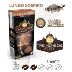 NESPRESSO - 10 CAPSULE ''CAFFE' TRE VENEZIE'' LUNGO SOSPIRO - 100% ARABICA