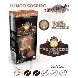 NESPRESSO - 200 CAPSULE ''CAFFE' TRE VENEZIE'' LUNGO SOSPIRO - 100% ARABICA