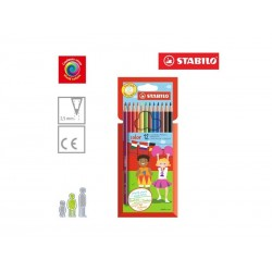 Pastelli Stabilo Vivid Colors 12pz