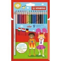 Pastelli Stabilo Vivid Colors 18pz