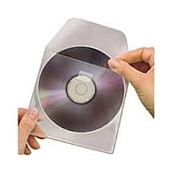 PORTA CD TRASPARENTI 100 PZ