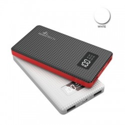 POWER BANK RICARICA RAPIDA 6000 mAh CON DISPLAY LED + 2 USB WIMITECH