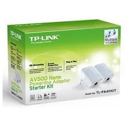 POWERLINE TP-LINK AV500 STARTER KIT 300MT