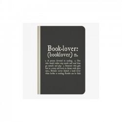 Quaderno a Righe Legami Booklover Rilagatura a Punto