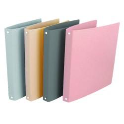 Quaderno ad Anelli PPL Morbidi Colori Metalizzati 16mm
