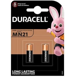 BATTERIA 12V ALCALINA DURACELL SICURITY MN21 2PZ