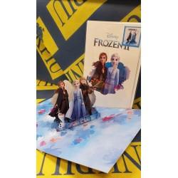 Biglietto Auguri Origamo ''Frozen 2'' Fatto a Mano