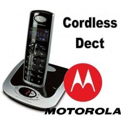 Telefono Cordless Motorola D511 Digitale con Segreteria Nero