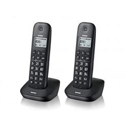 TELEFONO CORDLESS TWIN PACK BRONDI GALA TWIN NERI 2 TELEFONI
