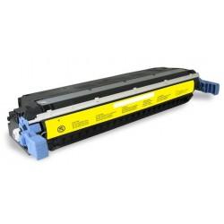 TONER RIGENERATO HP C9732A GIALLO PER CANON LPB 2500/2510 HP 4600/4650 12.000 COPIE