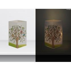 """W-LAMP BIGLIETTO D'AUGURI LAMPADA LED """"ALBERO DELLA VITA"""" EVERYDAY COLLECTION S H15 CM"""