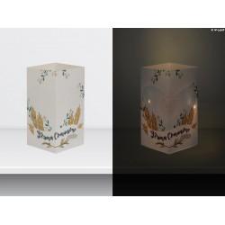 """W-LAMP BIGLIETTO D'AUGURI LAMPADA LED """"COMUNIONE"""" EVERYDAY COLLECTION S H15 CM"""
