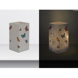 "W-LAMP BIGLIETTO D'AUGURI LAMPADA LED ""FARFALLE"" EVERYDAY COLLECTION S H15 CM"