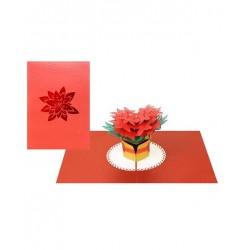 Biglietto D'Auguri Origamo ''Stella di Natale''