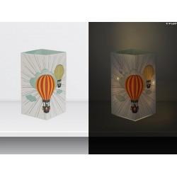 "W-LAMP BIGLIETTO D'AUGURI LAMPADA LED ""MONGOLFIERE"" EVERYDAY COLLECTION S H15 CM"