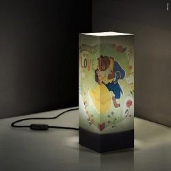 W-LAMP LAMPADA DISNEY COLLECTION LA BELLA E LA BESTIA H32 CM