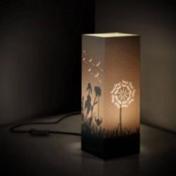 W-LAMP LAMPADA IN CARTONCINO-TAGLIO LASER DANDELION H32