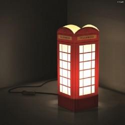 W-LAMP LAMPADA IN CARTONCINO-TAGLIO LASER TELEPHONE H32