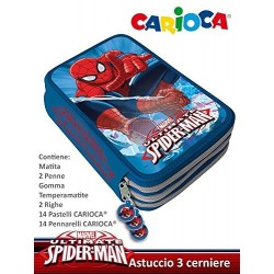 ASTUCCIO SPIDERMAN 3 ZIP
