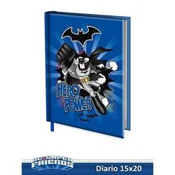 DIARIO SCUOLA BATMAN 15x20