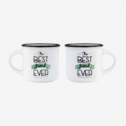 ESPRESSO FOR TWO - COFFEE MUG - THE BEST FRIEND EVER