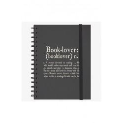 NOTEBOOK CON SPIRALE A5 LARGE LEGAMI BOOKLOVER