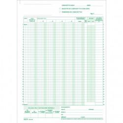 BLOCCO CORRISPETTIVI 13/13 FOGLI AUTORICALCANTI 228X297