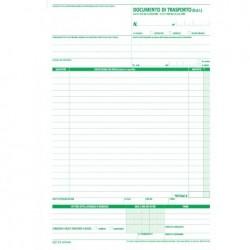 Blocco documento di trasporto 25x4 autoricalcante 29,7x21