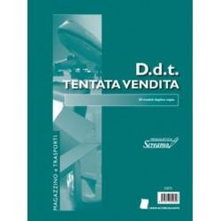 BLOCCO DOCUMENTO DI TRASPORTO TENTATA VENDITA 50/50 fogli 228x297