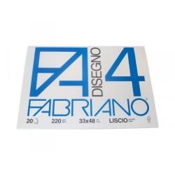 BLOCCO FABRIANO F4 33X48 LISCIO