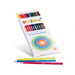 12 Pastelli Primo Colorate  Laccate FSC