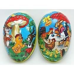 Box contenitore uovo grande 35 cm uova di pasqua per sorprese personalizzate, da riempire