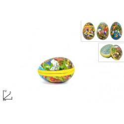 Box contenitore uovo piccolo 12 cm uova di pasqua per sorprese personalizzate, da riempire