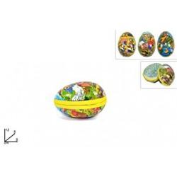 Box contenitore uovo piccolo 9 cm uova di Pasqua per soprese personalizzate, da riempire