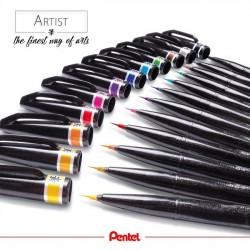 Brush Sign Pen Artist Pentel Pennello Ultra fina