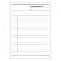BUONI CONSEGNA 33X3 COPIE AUTORICALCANTE 22,5X14,8 VERTICALE