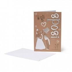 Biglietti di Congratulazioni - Viva gli Sposi - Legami