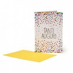 Biglietto d'Auguri - Buon Compleanno - Pois - Legami