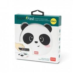 Super Fast - Wireless Charger - Panda - Legami
