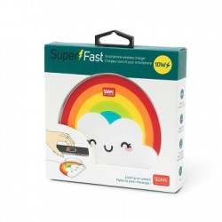 Super Fast - Wireless Charger - Rainbow - Legami