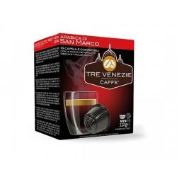 CAFFE' TRE VENEZIE DOLCE GUSTO ARABICA DI SAN MARCO 16 CAPSULE