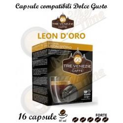 CAFFE' TRE VENEZIE DOLCE GUSTO LEON D'ORO 16 CAPSULE
