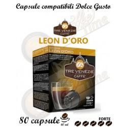 CAFFE' TRE VENEZIE DOLCE GUSTO LEON D'ORO 80 CAPSULE